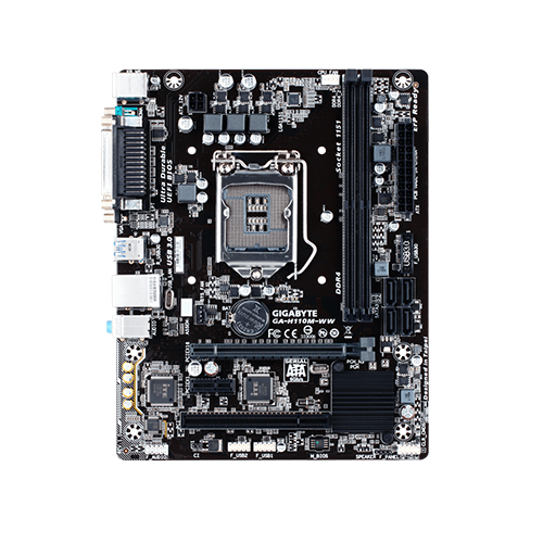 GIGABYTE H110M S2PH SKT1151 M ATX MOTHERBOARD INTEL 6TH GENERATION DDR4