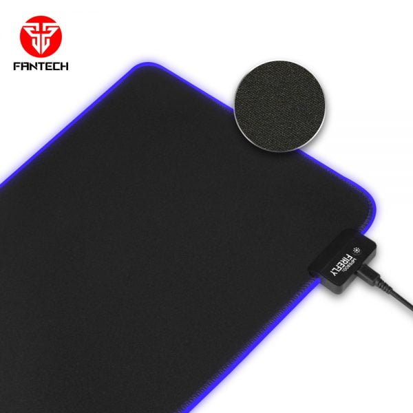 Fantech MPR800S Firefly Soft Cloth RGB Gaming Mouse Pad