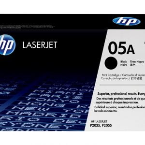 HP 05A Black Original LaserJet Toner