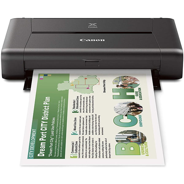 Canon Pixma iP110 Portable Inkjet Wifi Printer with Battery Pack 02