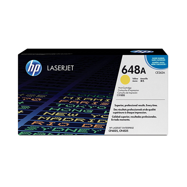 HP 648A Yellow