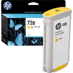 HP 728 130-ml Yellow