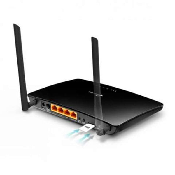 TP Link TL MR6400 300Mbps Wireless With SIM Card Slot N 4G LTE Router C