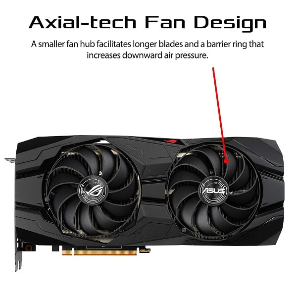 Asus RX 5500 XT 8GB Graphics Card