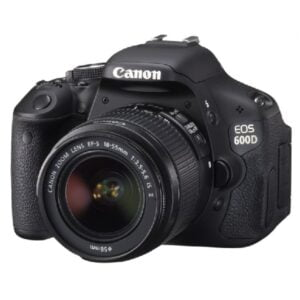 Canon EOS 600D DSLR Camera
